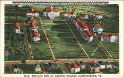 Airplane View of Madison College