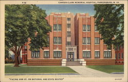 Camden-Clark Memorial Hospital, Facing Ann St. on National and State Routes