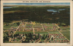 Aerial View of Fort Lewis