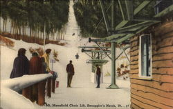 Mt. Mansfield Chair Lift