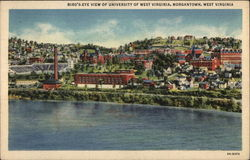 Bird's-Eye View of University of West Virginia