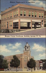 Masonic Temple & U.S. Post Office; Morgan County Courthouse