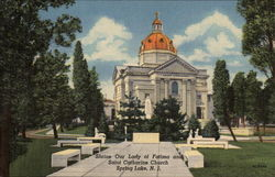 Shrine Our Lady of Fatima and Saint Catharine Church Postcard