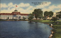 Monmouth Hotel from Lake Postcard