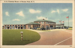 U. S. Customs House at Rouses Point