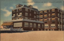 Commander Hotel, Boardwalk and 14th St