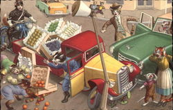 A Fruit Truck Accident