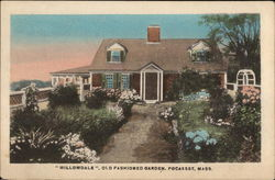 """Willowdale"", Old Fashioned Garden"
