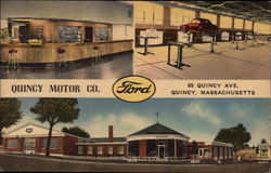 Quncy Motor Co. Ford Dealership
