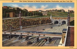 New Jersey Entrance to Lincoln Tunnel