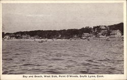 Bay and Beach, West Side, Point O'Woods