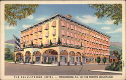 The Penn-Stroud Hotel in The Pocono Mountains
