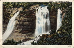 View of Miner's Falls