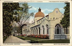 "Quapaw Baths - ""The House With the Big Dome"""