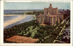 Edgewater Beach Hotel and Recreation Grounds Postcard