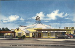 The Brown Derby Restaurant Postcard
