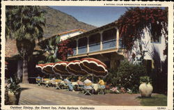 Outdoor Dining, the Desert Inn