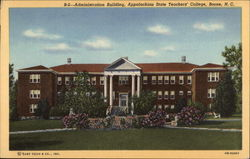 Administration Building, Appalachian State Teachers' College Postcard