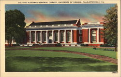 The Alderman Memorial Library, University of Virginia