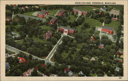 Aerial View of Hood College