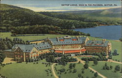 Skytop Lodge, High in the Poconos