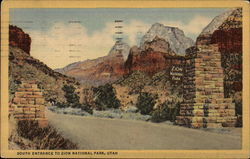 South Entrance to Zion National Park