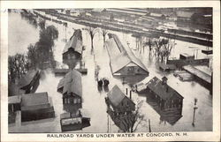 Railroad Yards under Water
