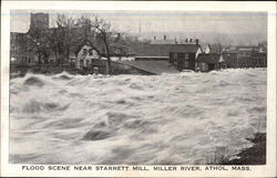 Flood Scene Near Starrett Mill, Miller River