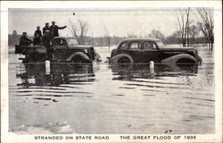 Stranded on State Road; The Great Flod of 1936