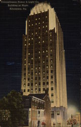 Pennsylvania Power & LIght Co. - Building at Night