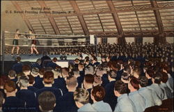 Boxing Bout, U.S. Naval Training Station