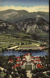 The Broadmoor Hotel and Surroundings