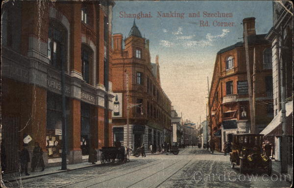 Nanking and Szechuen Rd. Corner Shanghai China