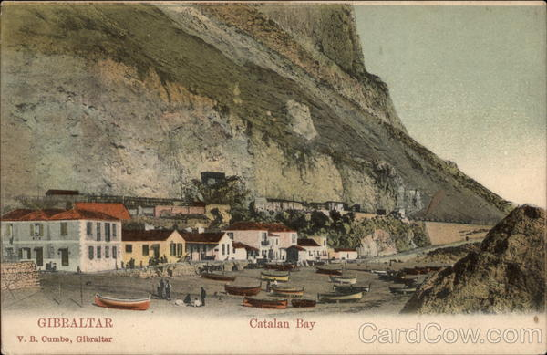 Catalan Bay Gibraltar Spain