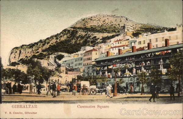 Casemates Square Gibraltar Spain, Portugal