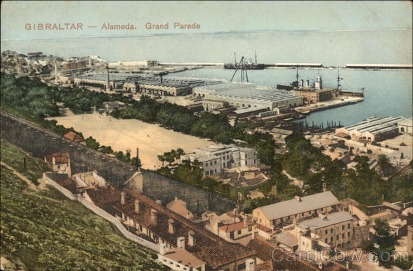 Alameda. Grand Parade Gibraltar Spain