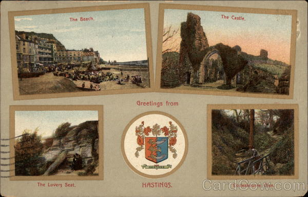 Multiple Views of Area Hastings England Sussex