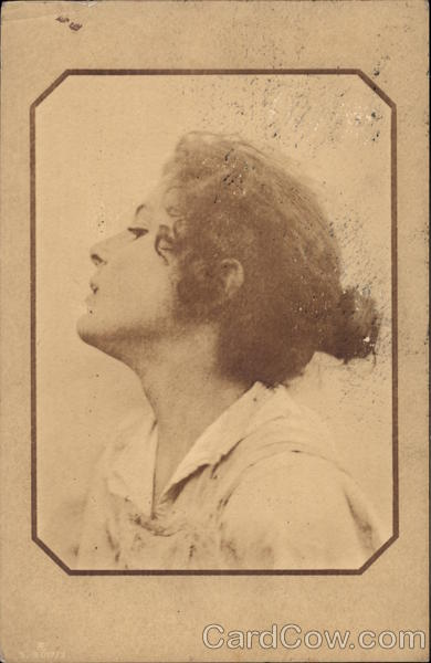 Profile of Young Woman Women