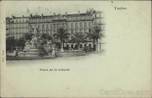 Place de la Liberte Toulon France