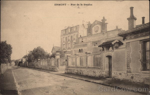 Station Road Ermont France