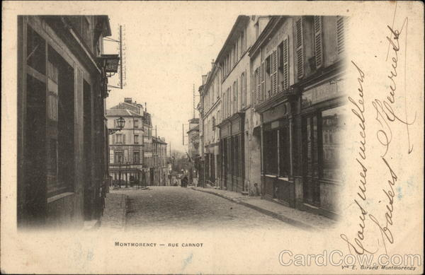 Rue Carnot Montmorency France