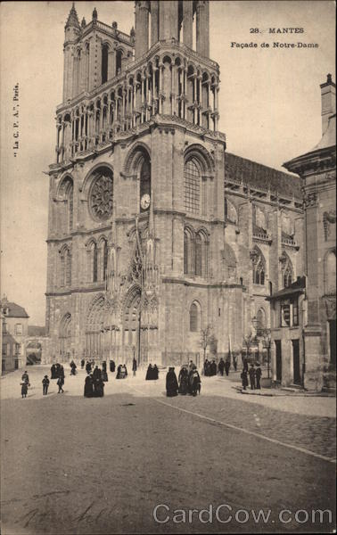 Cathedral of Notre-Dame Mantes France