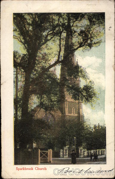 Christ Church - Sparkbrook Birmingham England Warwickshire