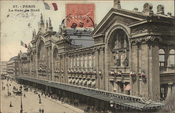 La Gare du Nord Paris France