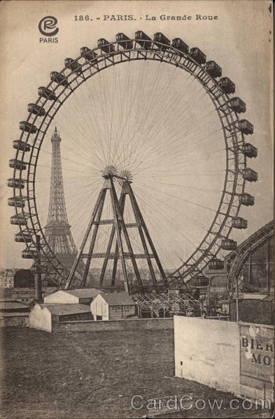 La Grande Roue - Ferris Wheel Paris France