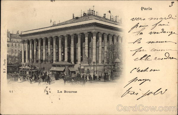 La Bourse Paris France