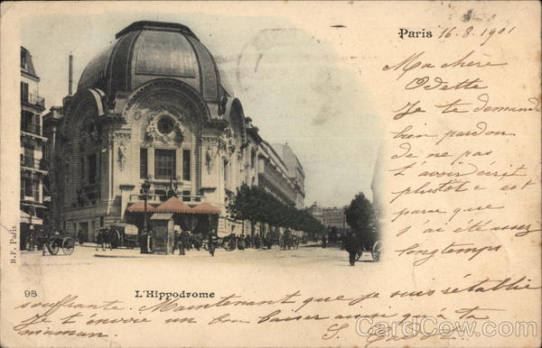 L'Hippodrome Paris France