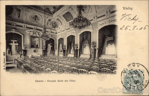 Casino - Grand Salle des Fetes Vichy France