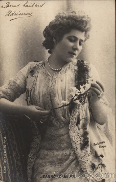 Jeanne Granier - French Actress and Opera Singer Actresses
