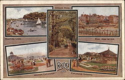 Various Views of Town - Isle of Wight